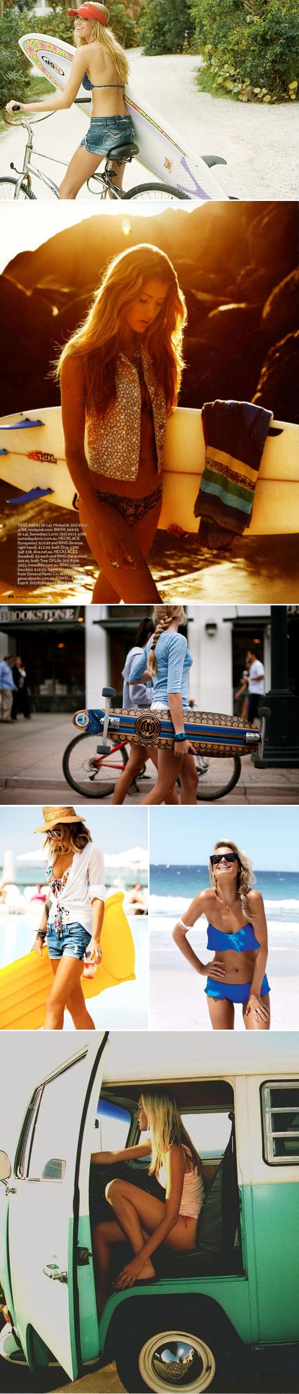 The Style Umbrella - http://www.thestyleumbrella.com/2012/07/10/surfer-girl-style/