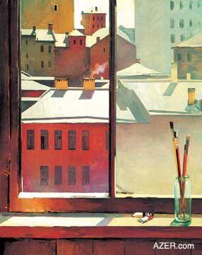 Morning in Moscow - Tahir Salahov