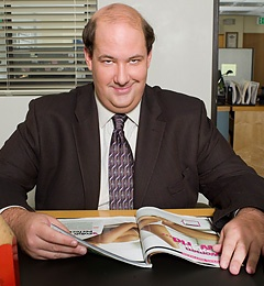 """Brian Baumgartner  as Kevin Malone in """"The Office"""" (TV Series 2005– )   Is he great or what!"""