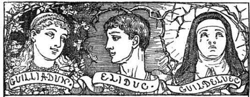 Eliduc, Guilliadon et Guildeluec