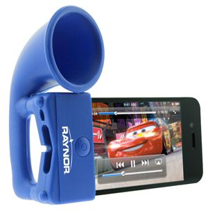 A megaphone for your iPhone.