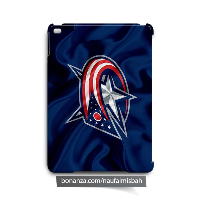 Columbus Blue Jackets Ruffles Silk iPad Air Mini 2 3 4 Case Cover