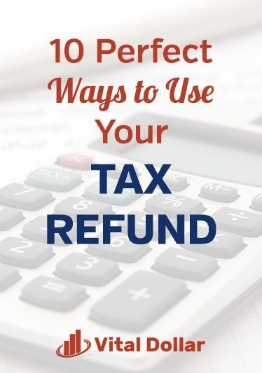 10 Perfect Ways to Use Your Tax Refund. How to make wise financial decisions with the extra money. Emergency savings, pay down debt, home improvements, car repairs, medical bills, individual retirement account, traditional IRA, Roth IRA, contribution limits, investing, donate to charity, college savings, 529 plan for your kids, start a business, take a family vacation. #personalfinance #money