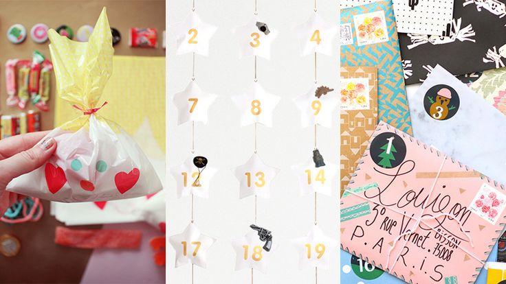 Part 2 / 2 – Sélection de jolis calendriers de l'avent DIY (pour enfants ingrats qui n'aiment pas le chocolat) --- Article by Catarinette on www.catarinette.com