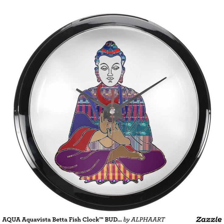 AQUA Aquavista Betta Fish Clock™ BUDDHA MEDITATION Aquavista Clock