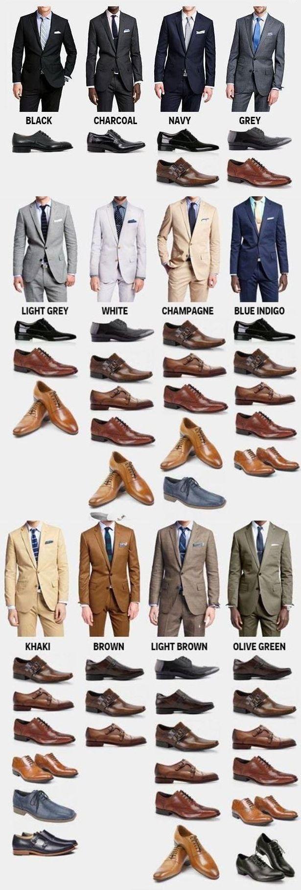 남자의 양복과 구두!