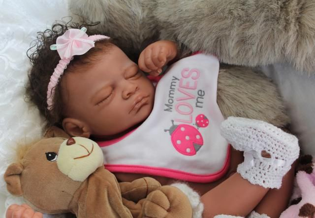 Details About Reborn Baby Quot Charise Quot Biracial Ethnic