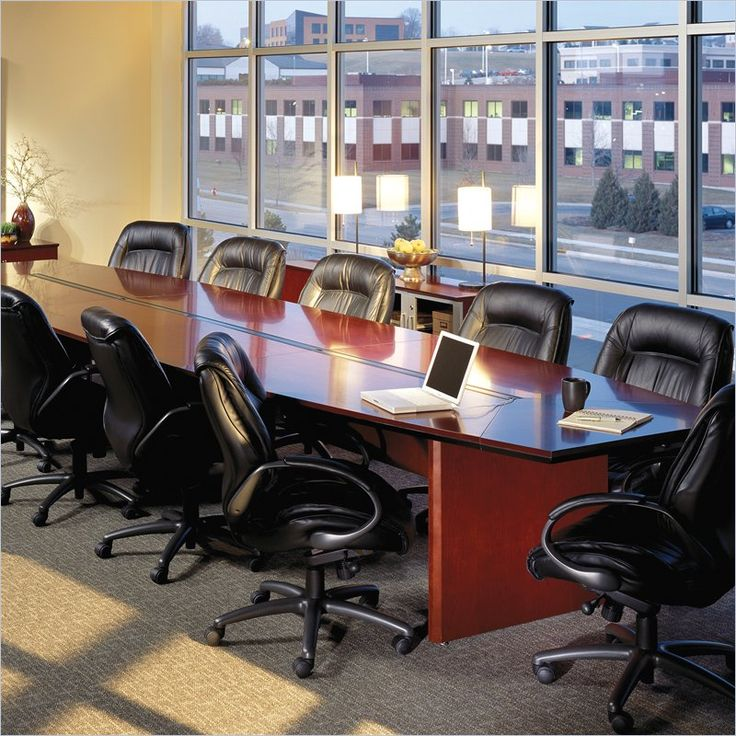 mayline corsica boat shaped 18u0027 conference table with slab base discount office