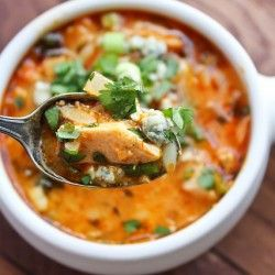 PALEO BUFFALO CHICKEN SOUP - a Paleo Recipe on chowstalker Plus tons if other soup recipes