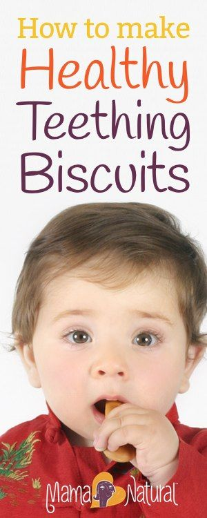 How to Make Healthy Teething Biscuits