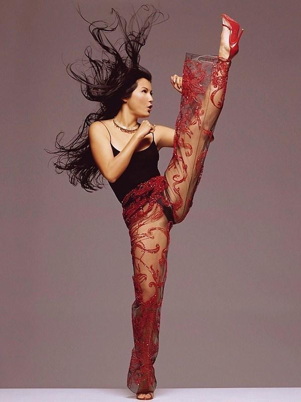 Kelly Hu... Kick'in Ass!!! | She Don't Play! | Pinterest ...