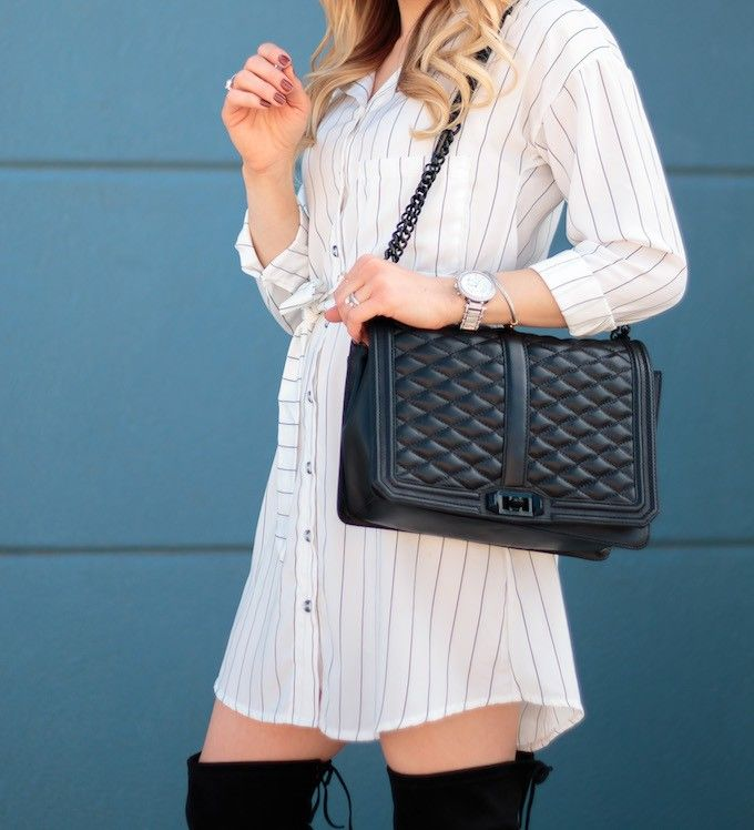 rebecca minkoff Jumbo love crossbody bag black hardware