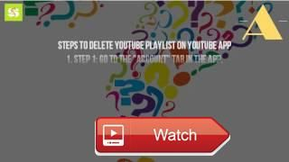How Do You Delete A Playlist On Youtube App  Mobile app android iphone how to delete a playlist on youtube 1 apr 1 just follow these steps youtube in its offici