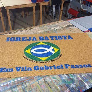 Novidade do Grupo Betel.  Lindos tapetes feitos com qualquer logomarca e feito sob medida.  www.portalgrupobetel.com