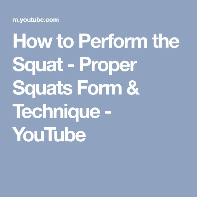 Best 25 Proper Squat Ideas On Pinterest How To Do
