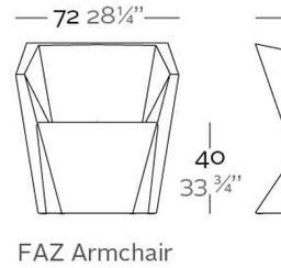 Vondom Faz Armchair | 2Modern Furniture & Lighting
