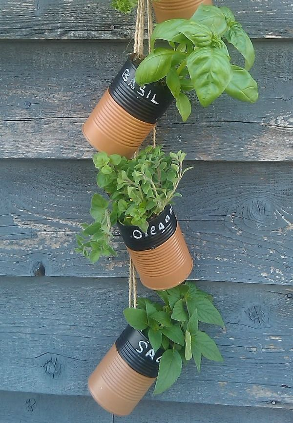 blikken-plantenhanger