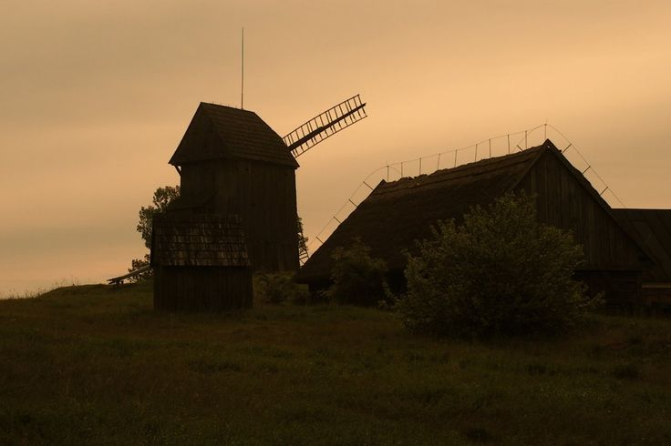 Windmill, Moraczewo, Poland