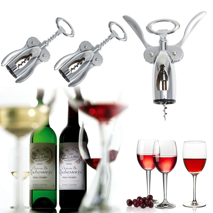 Zinc Alloy Wine Screwpull Corkscrew Red Wine Bottle Opener Cork Puller Tool Bar Wine Bottle Openers Home Kitchen Tools #Affiliate