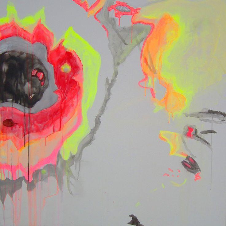 Anomalie 2  Acrylic on canvas 2016