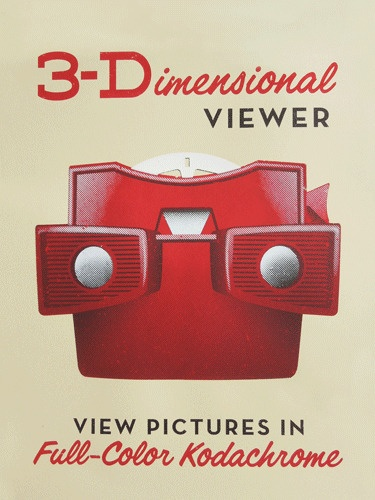 3-Dimensional Viewer - View Pictures in Full-Color Kodachrome by Jamie Reed.