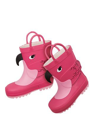 Buy Pink Flamingo Wellies (Younger Girls) from the Next UK online shop