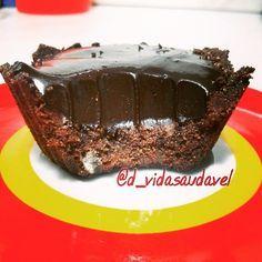 Receita de tortinha de chocolate fit - sem lactose e glúten - Diário de uma vida saudável