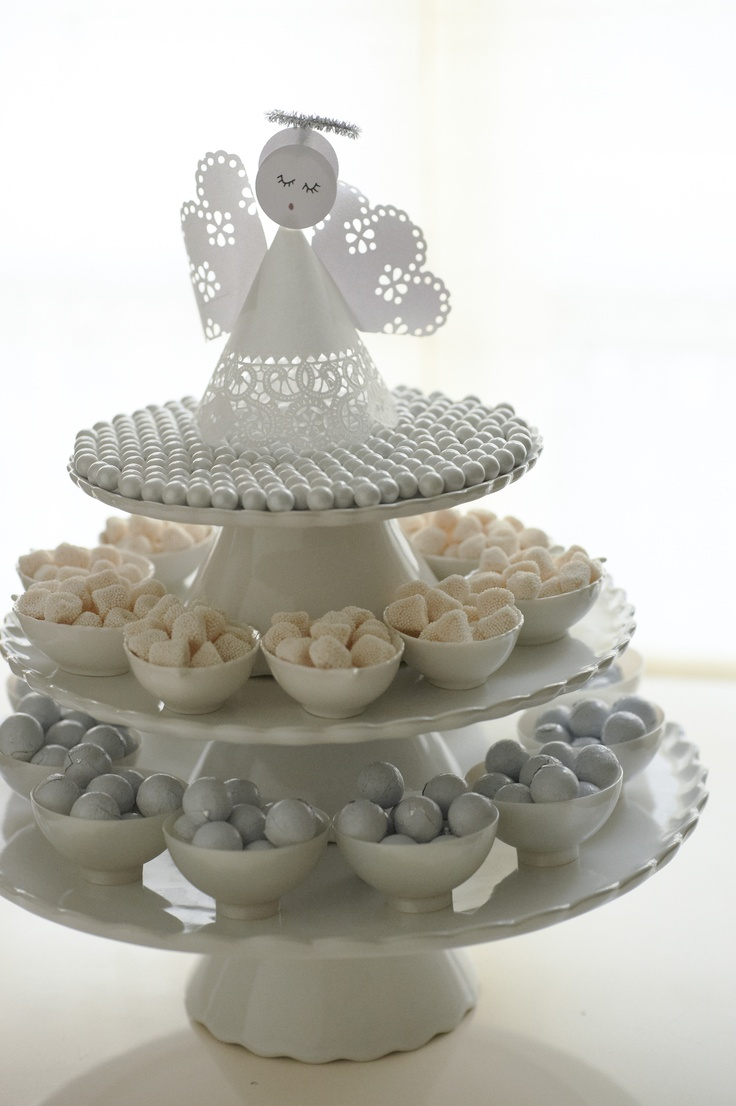 I have a stand much like this one and am planning to put petits fours on it for the shower.  It would be nice to have to based on the numbers and to keep with the twins theme.  Anyone have one or know of where I could borrow one?