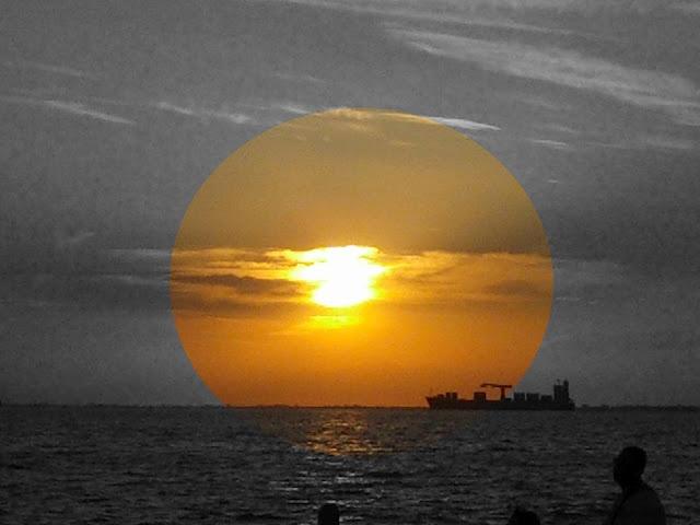Ηλιοβασίλεμα στην Θεσσαλονίκη