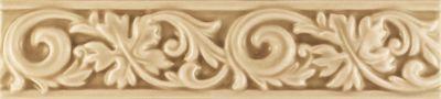 Essenze Series - Dark Beige Ceramic Feat Strip 2.5x10