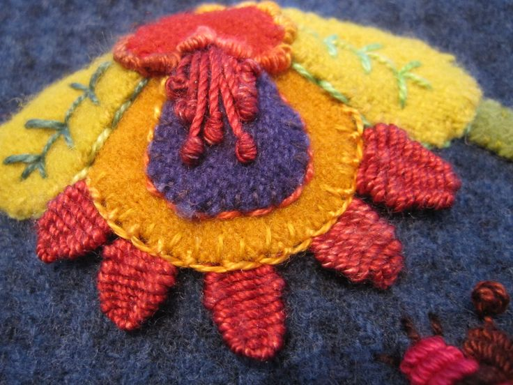 Wonderful woven stitches. Must learn how to do them!