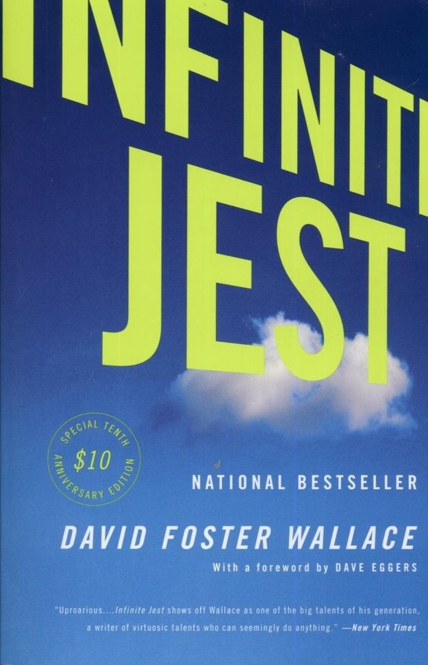Infinite Jest by David Foster Wallace (1996) | The 25 Most Challenging Books You Will Ever Read