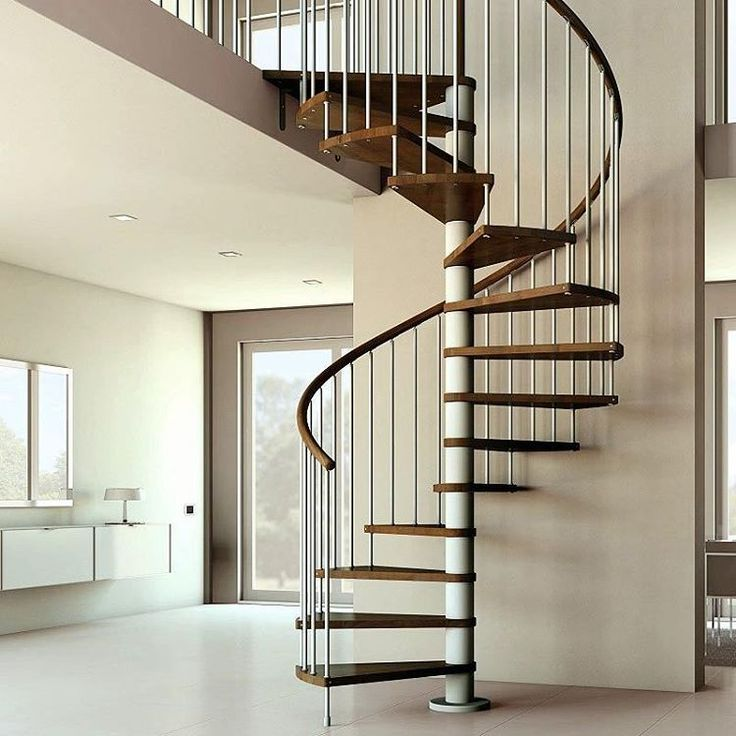 Spiral Stainless Steel Staircase Parts available