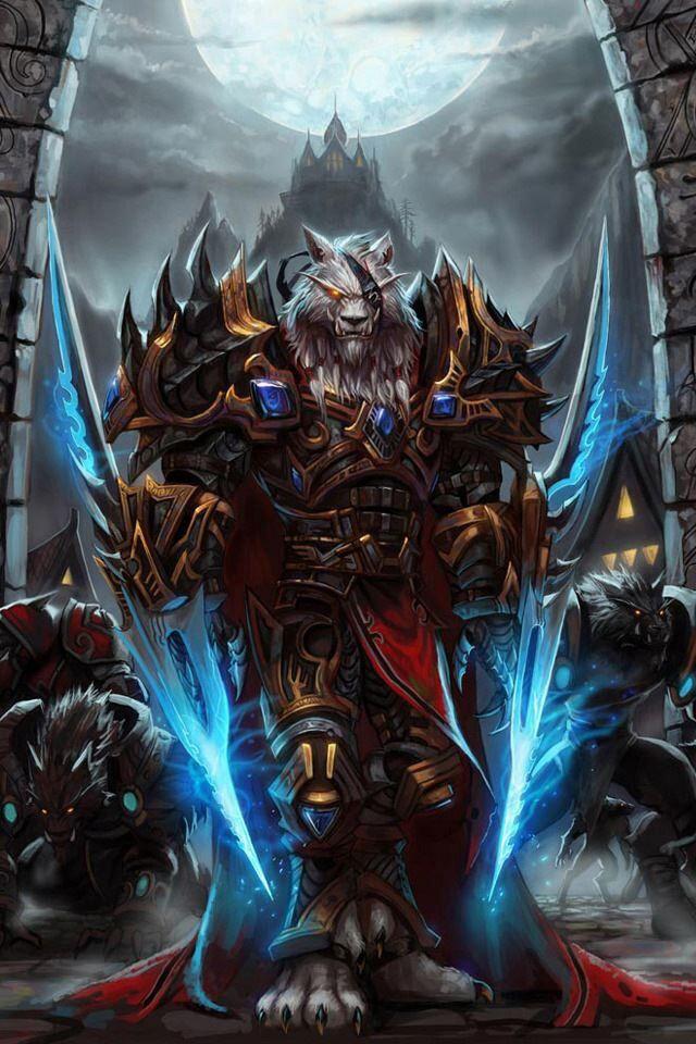White Tiger Warrior Fantasy....... Pinterest Wolves