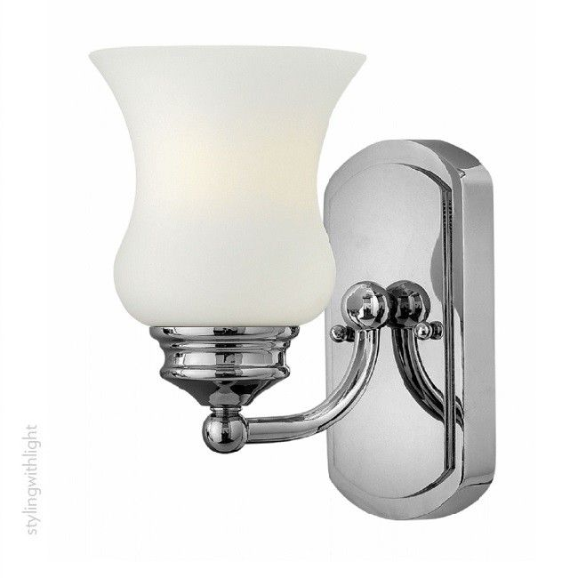 Constance 1 Light Bathroom Wall Light, by the USA's Hinkley Lighting.