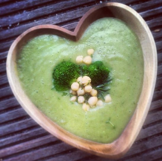 The Green Happiness | Skinny Kale Soup