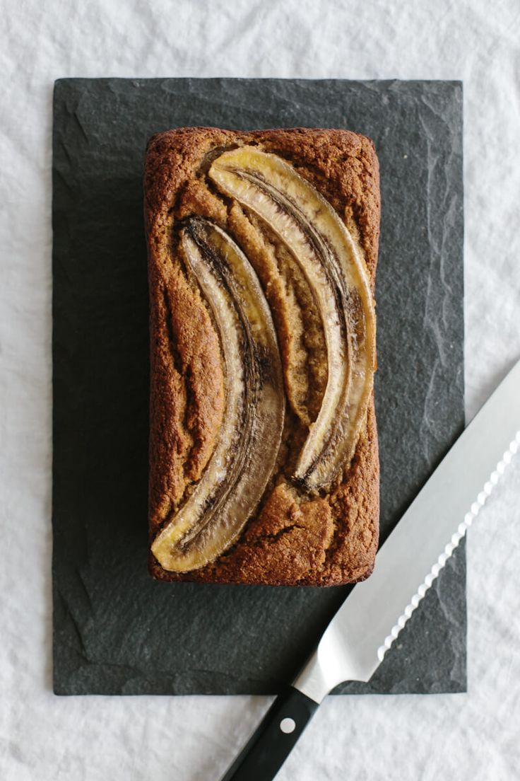 (gluten-free, paleo) This healthy, super moist banana bread is delicious and easy to make - it only takes one bowl! It's also gluten-free, grain-free, dairy-free and paleo.