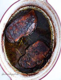 piersi z kaczki pieczone z suszoną żurawiną ( baked duck breast with dried cranberries)