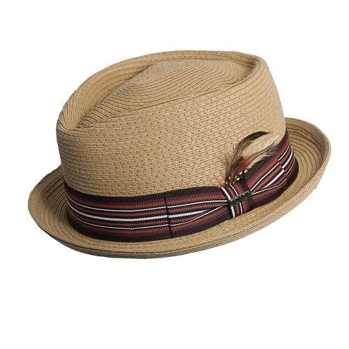 228c4c987f8af Bookie - DPC MS164 Toast Paper Braid Stingy Brim Fedora Hat in 2019 ...