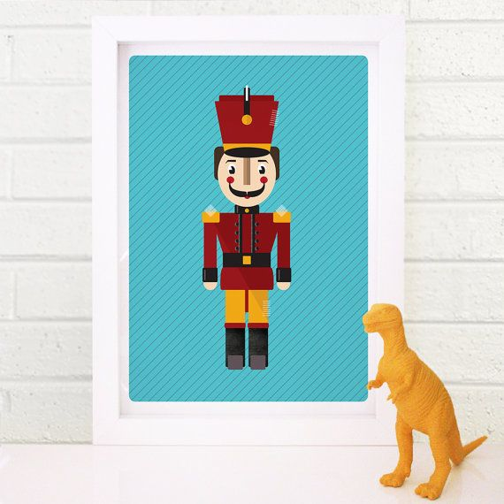 Toy Soldier Print // Kids Room Wall Art // by TimiOriginalDesign, $18.00