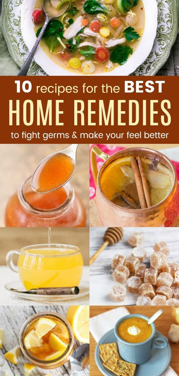 10 Recipes for the Best Home Remedies to Fight Germs and