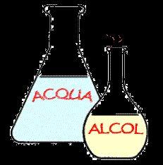 Tabella per la diluizione dell'alcol
