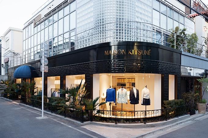 メゾンキツネ、日本初の路面店を南青山に2店舗同時オープン - ひと足早く注目の店内をご紹介   ニュース - ファッションプレス