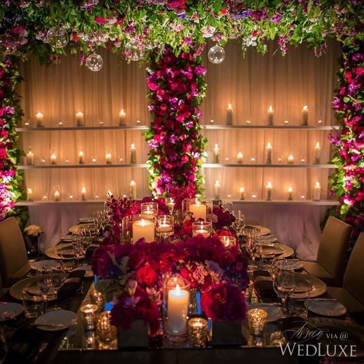119 best reception stage ideas images on pinterest wedding decor wedluxe alana andrew olivers sleek downtown toronto wedding junglespirit Image collections