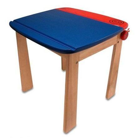 I`m toy Стол для рисования с держателем для рулона бумаги и контейнером, с 3 лет  — 6573р.  Деревянный стол I'm Toy для рисования. Устойчивый стол из дерева с закругленными углами для безопасности малыша. Под столешницей крепиться рулон бумаги (нет в наборе) для фантазий Вашего ребенка. Стол изготовлен из ценных, редких видов деревьев. Для окраски применяются стойкие краски, не содержащие фенол.