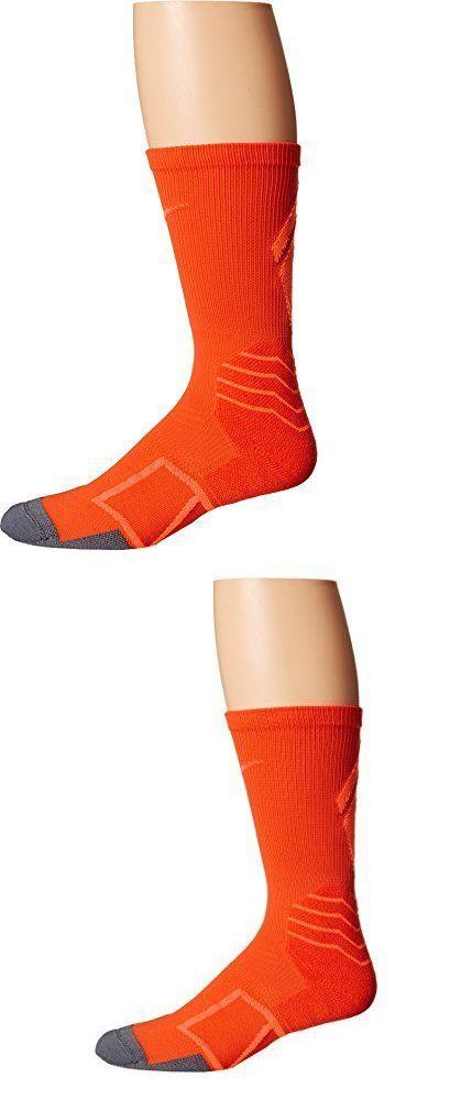 Baseball Socks 181338: Nike Elite Vapor Cushioned Crew Baseball Socks Team Crimson Total Orange, New -> BUY IT NOW ONLY: $115.5 on eBay!