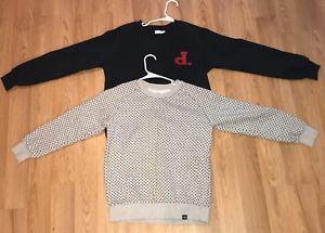 Diamond Supply Co. Crewneck Sweatshirt Womens Navy And Grey Lot Of 2 Size Medium  | eBay
