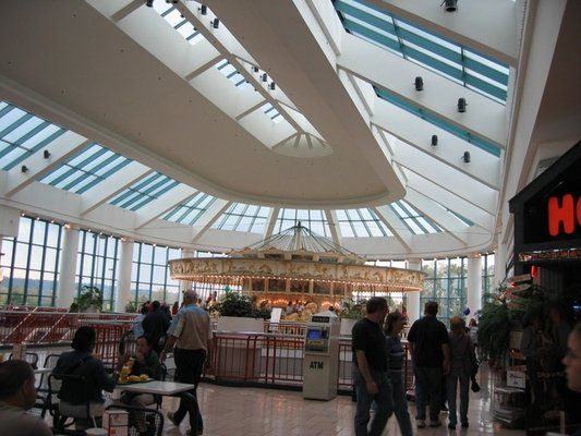 Destiny Mall, Syracuse, NY~carosel in food court