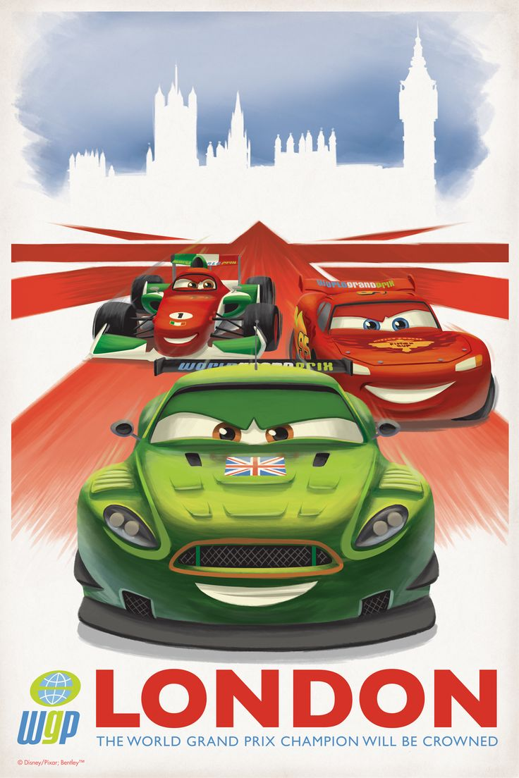 London cars 2 poster