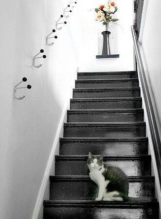 Svart trappa